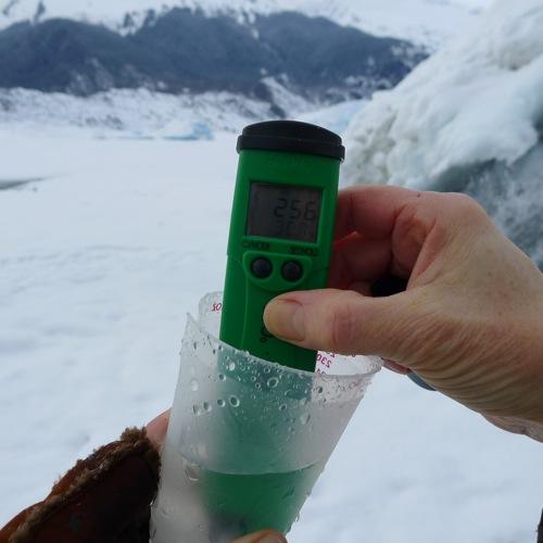 glacier water machine ph level