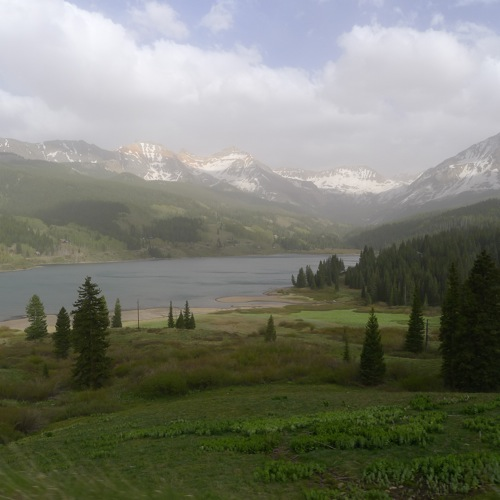 Heading north to Telluride, Colorado
