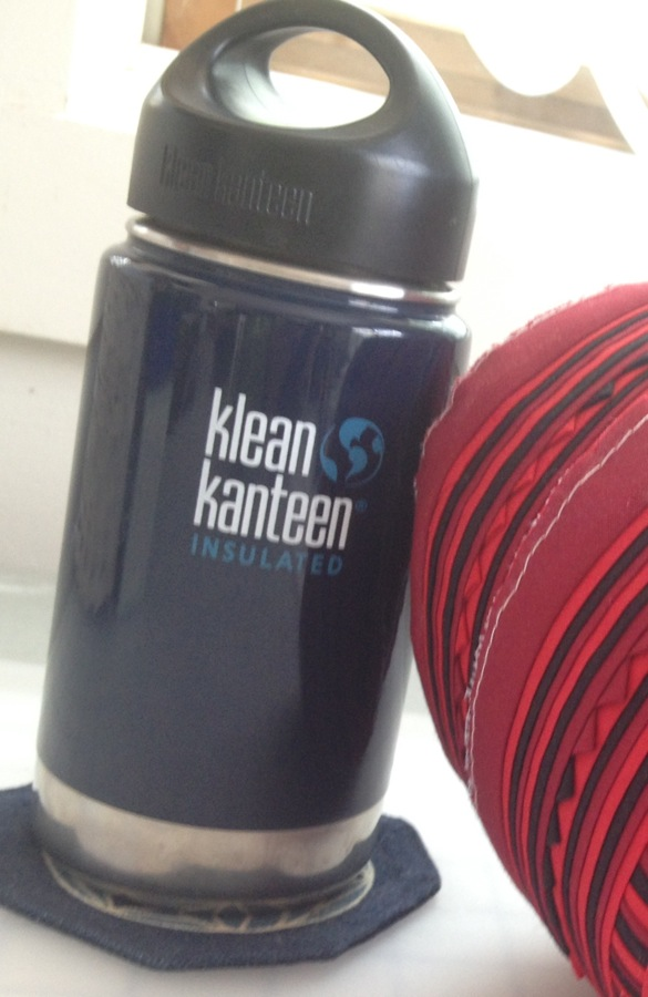 Necessary cold or hot drinks Kontained in Klarissa's Kool Klean Kanteen