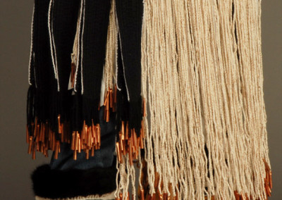 "n"" Ravenstail and Chilkat weavingsClose-up Octopus bag, apron, leggings ©2006 Clarissa Rizal"