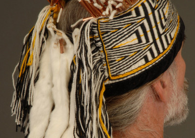 "n"" Ravenstail Weaving Close-up back headdress  ©2006 Clarissa Rizal"