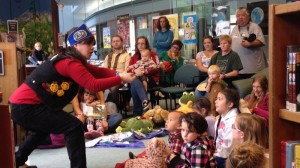 Professional Storyteller Lily Hope at the Juneau Public Library, Alaska