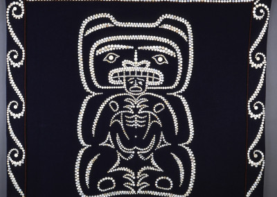 """Thomas Schulz Bear"" Button blanket robe, Private Collection, Seattle©2005 Clarissa Rizal"