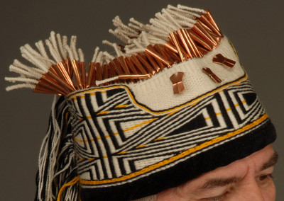 "n"" Ravenstail weaving Close-up Headdress  ©2006 Clarissa Rizal"